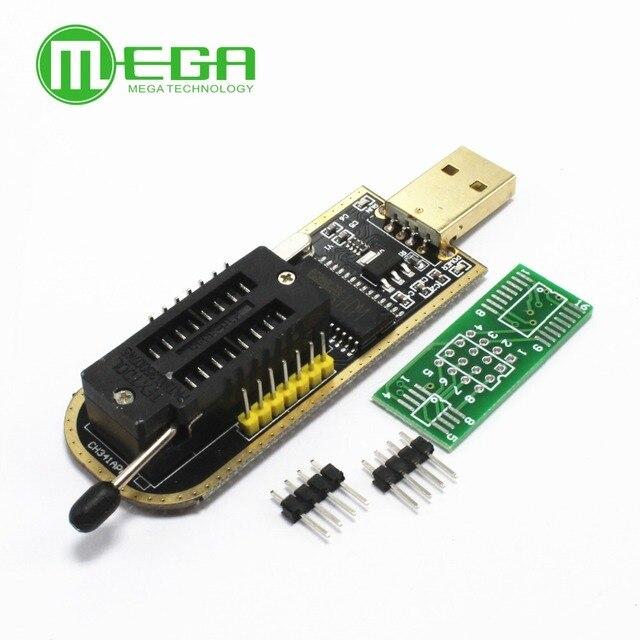 Conjunto 10 CH341A 24 25 Série EEPROM Flash BIOS Programador USB com Software & Motorista