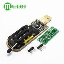 Juego de PROGRAMADOR USB para el BIOS, set de 10 unidades, CH341A 24 25 Series EEPROM Flash, con Software y controlador