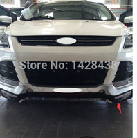 Front +Rear Bumper Protector Skid Plate guard ABS CHROME cover For FORD KUGA 2013 2015