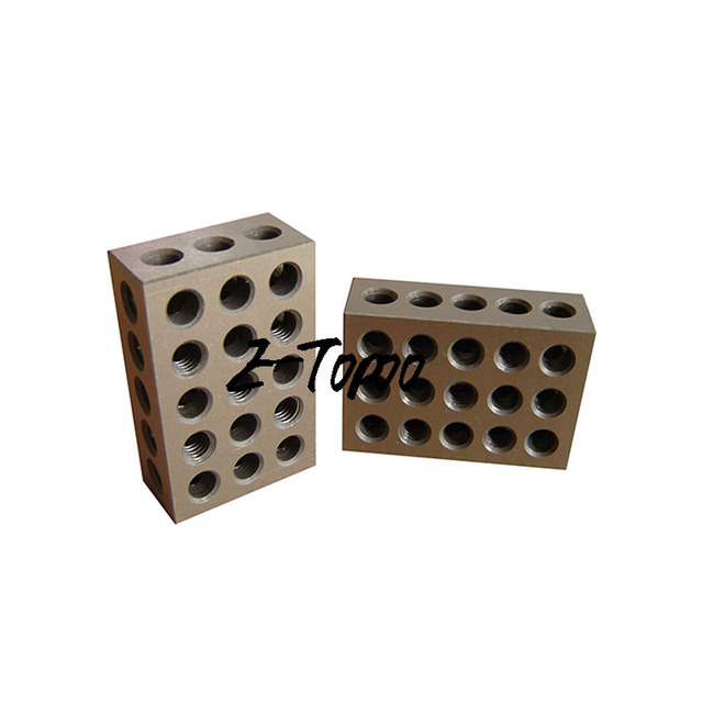 1pair=2pcs 23 holes Precision 1 2 3\'\' Blocks Parallel Clamping Block ...
