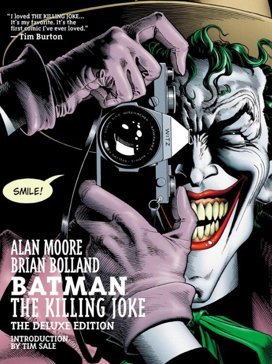 Joker Insanity Batman The Killing Joke (2016) Classic Movie Huge Art Wall Print Poster image