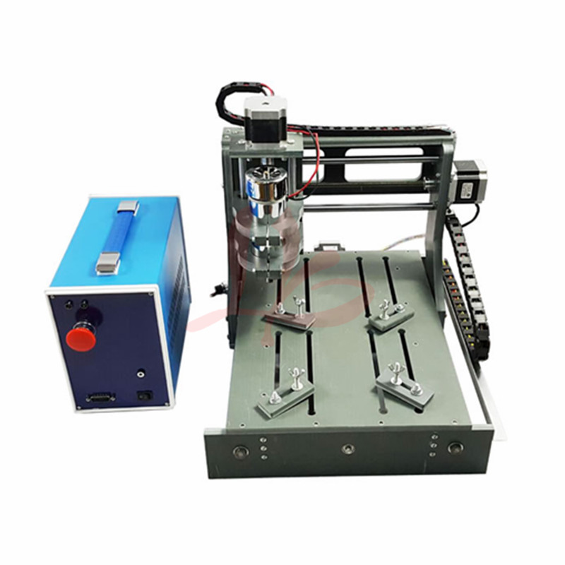 cnc engraving machine 2030-2 in 1 3axis CNC Router with USB port cnc milling machine for DIY eur free tax cnc 6040z frame of engraving and milling machine for diy cnc router