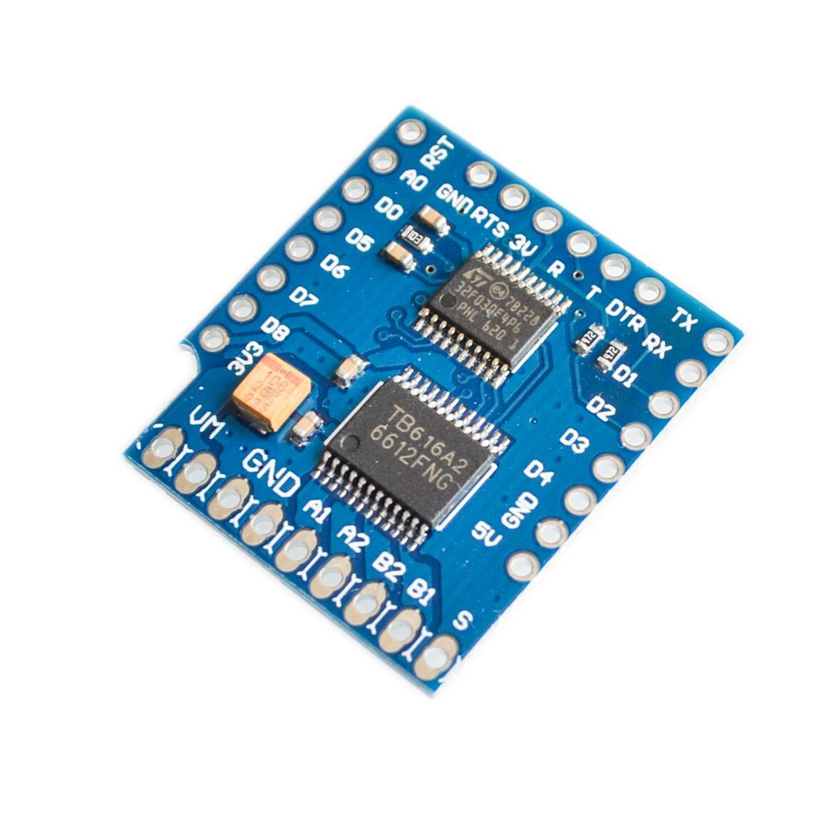 Elektronische Bauelemente 1A V1.0.0 M85 Motor Shield For WeMos D1 ...