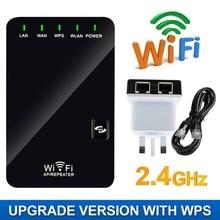 2,4 г сигнала Wi-Fi усилитель сигнала Беспроводной Сетевой удлинитель усилитель роутера Интернет усилитель сигнала Wi Fi ретранслятор RJ45 US UK штепсельная вилка европейского стандарта