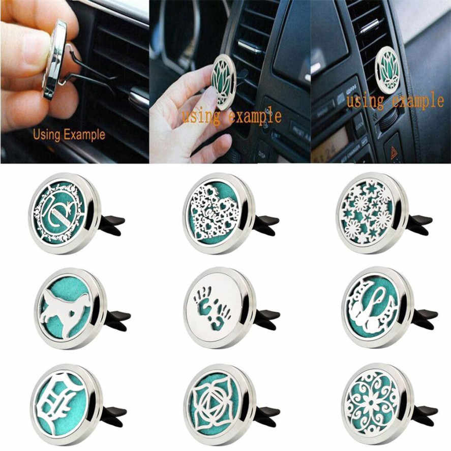 New CARPRIE 1PC High Quality Stainless Car Air Auto Vent Freshener Essential Oil Diffuser Gift Locket Decor Car Air Freshener