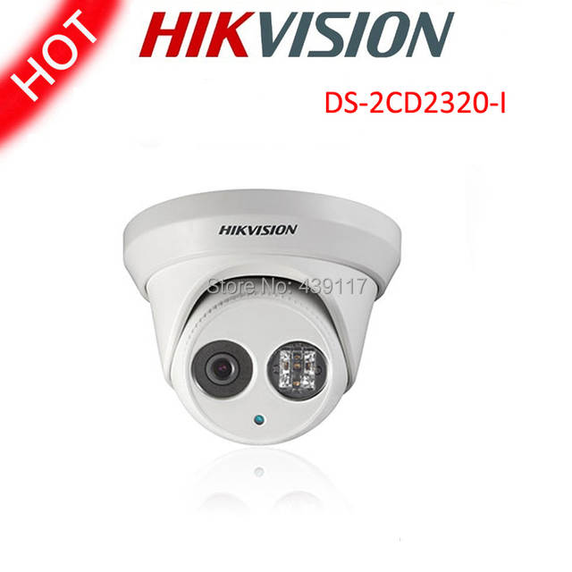 Free shipping Hikvision DS 2CD2320 I 2MP Mini Dome Network