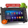 "Erisin ES3021B 8"" Android 5.1 Car DVD DAB+ for Benz A/B Class W169 W245 Sprinter Vito ( ES351 and ES350 Included)"