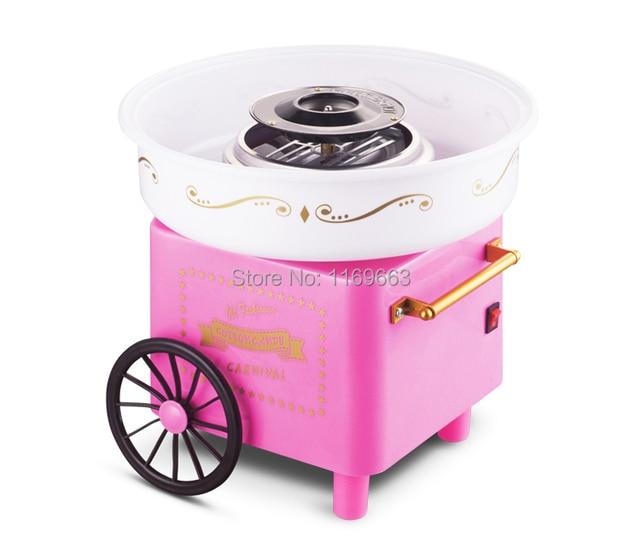 Hot Sell Nostalgia Cotton Candy Maker Machine 110V 220V Do It By Buyerself