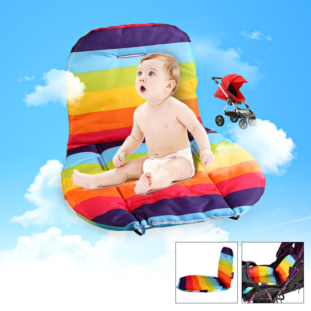 Baby Stroller seat Cushion Stroller Pad mattresses Pillow Child Carriage Car Umbrella Cart BB Car Thermal Thicken Pad