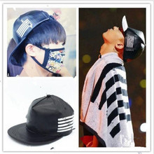 1d4322bc7a1244 Mainlead Kpop BTS V Suga Hat GOT7 Bigbang G-Dragon Baseball Cap CL Ring  Design