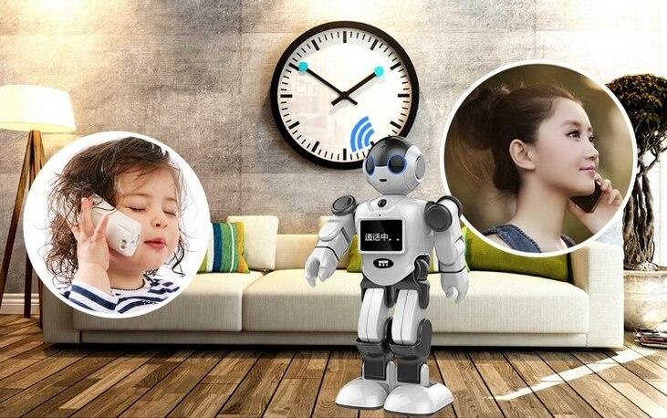 Новый креативный инновационный робот игрушка Поддержка Дома Монитор бесплатное приложение для общения - 3