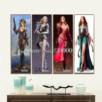 5D Diamond Embroidery Game Character Diy Diamond Painting Sexy Girls Pictures Full Diamond Mosaic Home Decor