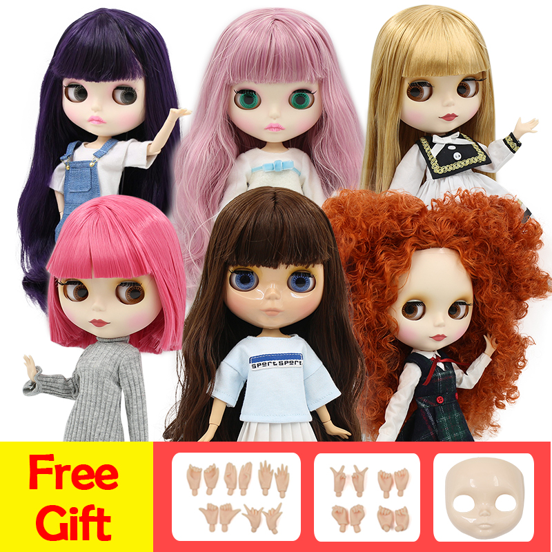 ICY factory blyth doll 1/6 BJD special offer special price, faceplace and hands AB as gifts(China)