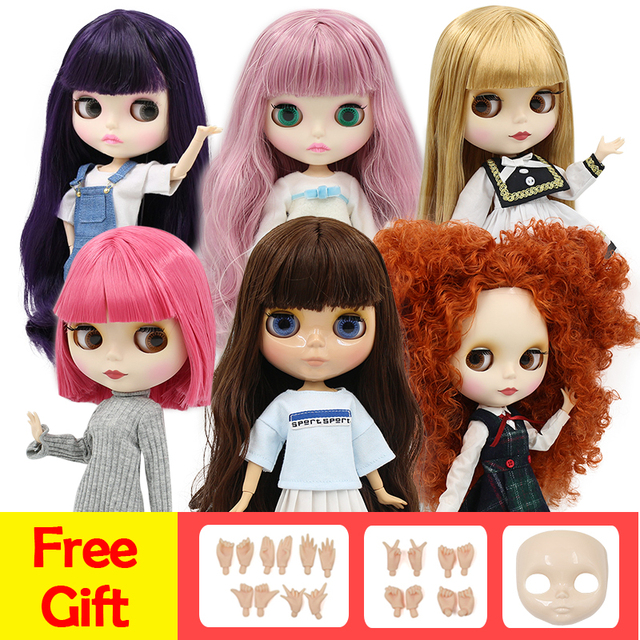 TBL Neo Блайт Doll 24 New Options жүрүүгө Body Free белектер