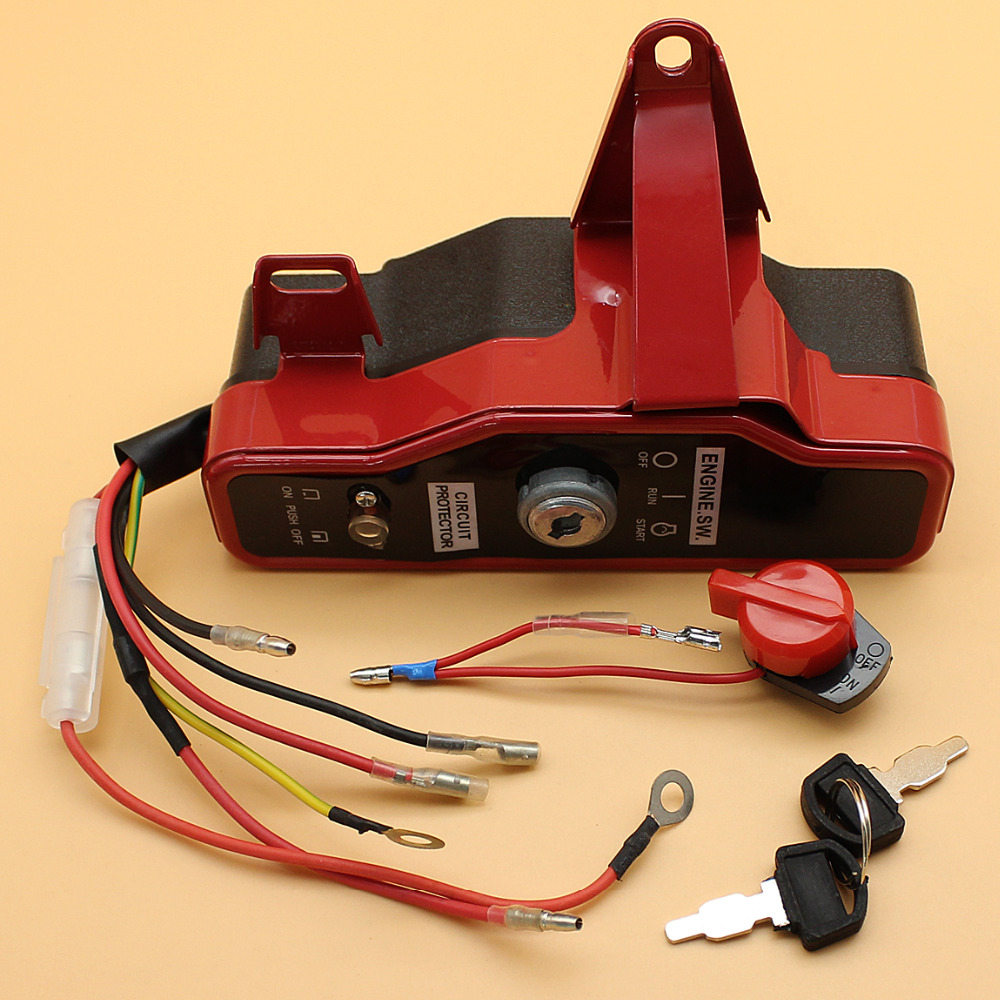 Ignition Switch Box With Keys Fit HONDA GX 160 200 CHINESE 168F 5 5HP 6 5HP Engine Motor Gasoline Generator