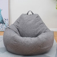 Lazy Bag Puf Beanbags Chairs Cover No Filler puff Asiento Pouf Sofa Cama Divano Poef Bean Boozled Cadeiras Sillones Pufa