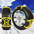 3pcs/lot Automobile snow chain Tire Anti skid Chains Thickened Beef Tendon Wheel Antiskid TPU Chain for car tire