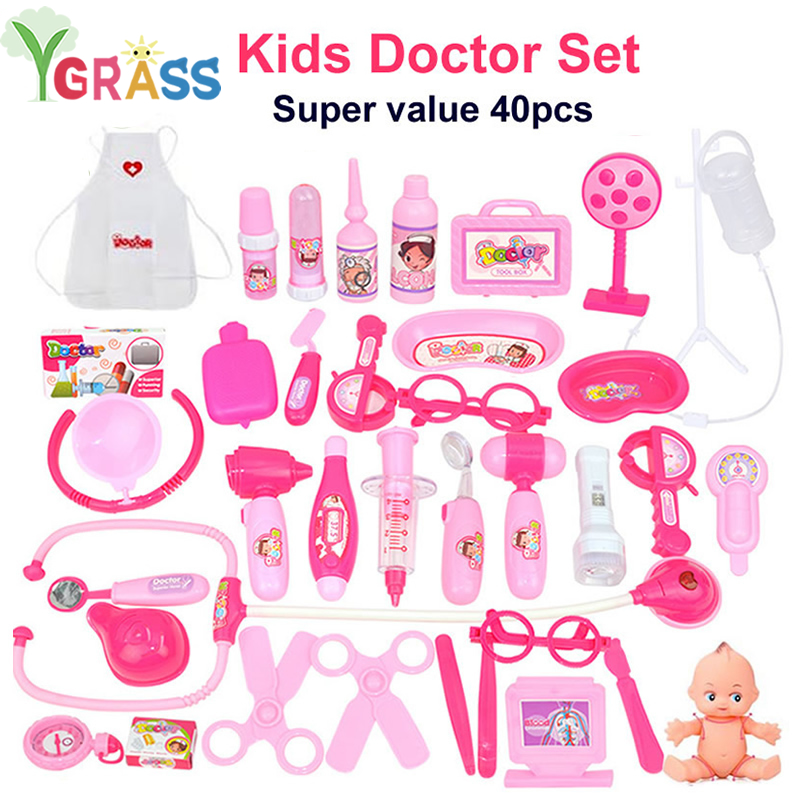 Doctor Toys Kids Role-Playing Games Medicine Pretend Play Set Doctors Recruitment Nurse Educational Child Gift For Girls 3 YearDoctor Toys Kids Role-Playing Games Medicine Pretend Play Set Doctors Recruitment Nurse Educational Child Gift For Girls 3 Year