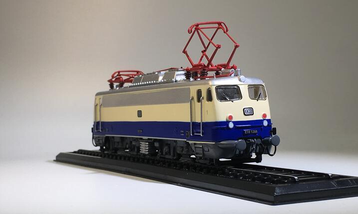 цена на 1:87 BAUREIH E 101266 (1962) tram train model 21# Collection model