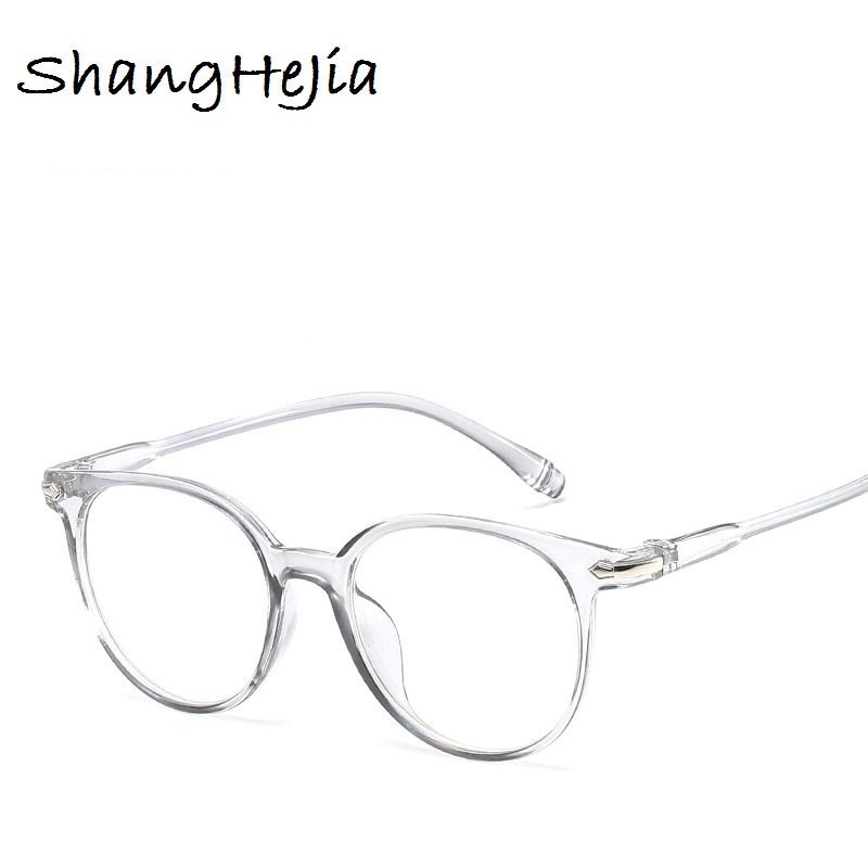 70530673cab8 2018 Fashion Women Glasses Frame Men Eyeglasses Frame Vintage Round Clear  Lens Glasses Optical Spectacle Frame
