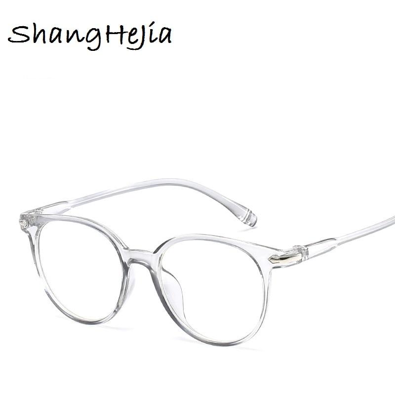 2018 Fashion Women Glasses Frame Men Eyeglasses Frame Vintage Round ...