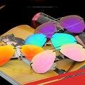 Lvvkee marcas hd óculos polarizados homens motorista espelho óculos de sol das mulheres aviador polaroid lente óculos sem aro qualidade superior anti-vertigem
