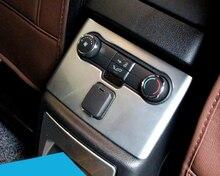Задний подлокотник коробка украшение рамка крышка обрезать 2 шт. для форда исследователь 2016 салона автоаксессуары укладки