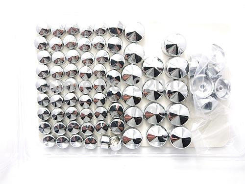 Motorcycle Motorbike Moto parts Chrome Topper Cover Bolt Caps For Harley Twin Cam Dyna 1991-2013