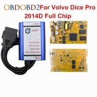 Quality A With USB Port Volvo Diagnosis Communication 2013A Super VOLVO VIDA DICE PRO Blue Color