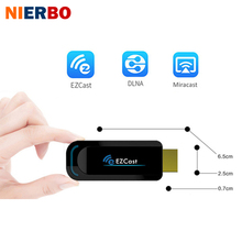 NIERBO EZCast Mini PC Android Airplay TV Stick DLNA Miracast Dongle WiFi Wireless HDMI Transmitter Receiver Full HD 1080P Window