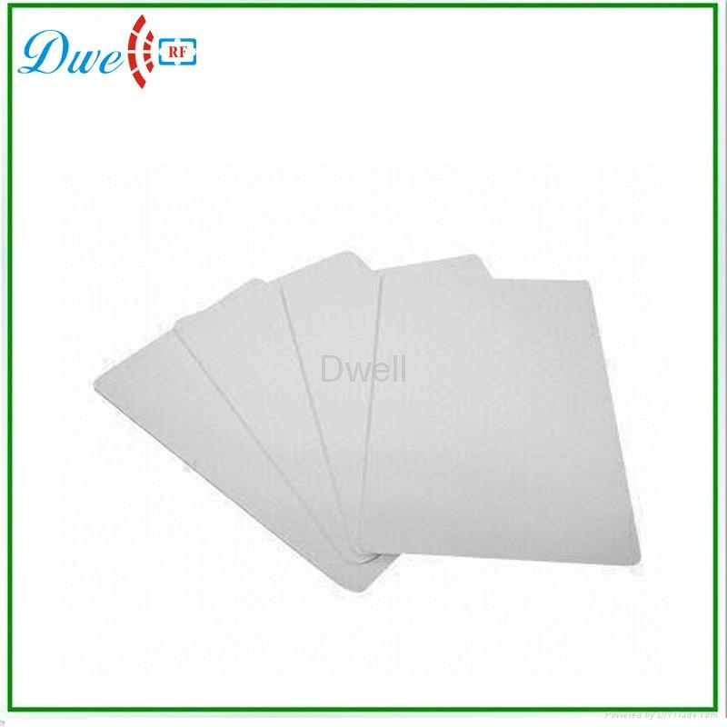 RFID UHF White Card PVC Tag for Long Distance Reader ic