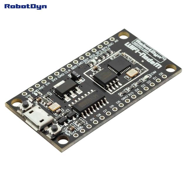 NodeMCU V3 Lua WIFI module d'intégration de ESP8266 + mémoire supplémentaire 32 m flash, USB-série CH340G