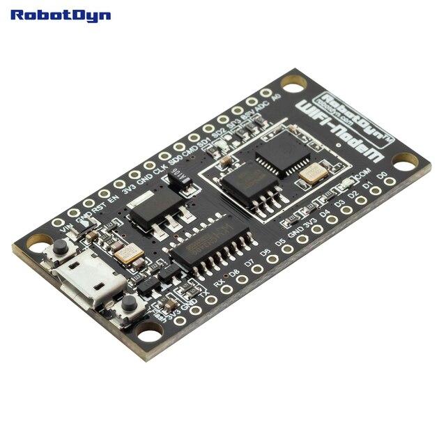 NodeMCU V3 Lua WIFI module intégration de ESP8266 + mémoire supplémentaire 32 M flash, USB-série CH340G