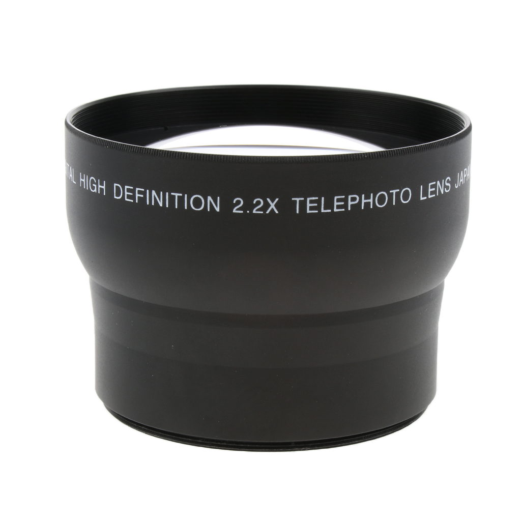 62mm 2x Telephoto Lens For Canon Nikon Sony Minolta Pansonic Olympus Pentax Digital SLR Camera