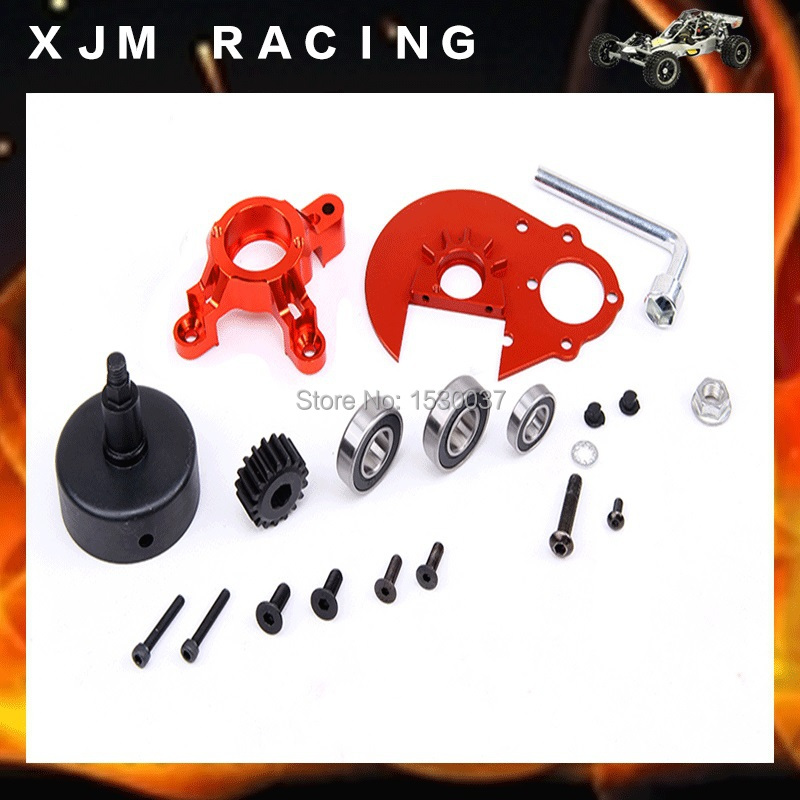 Engines upgrade parts CNC alloy enhanced power output kit fit HPI Baja 5B 5T 5SC king motor truck Free shipping