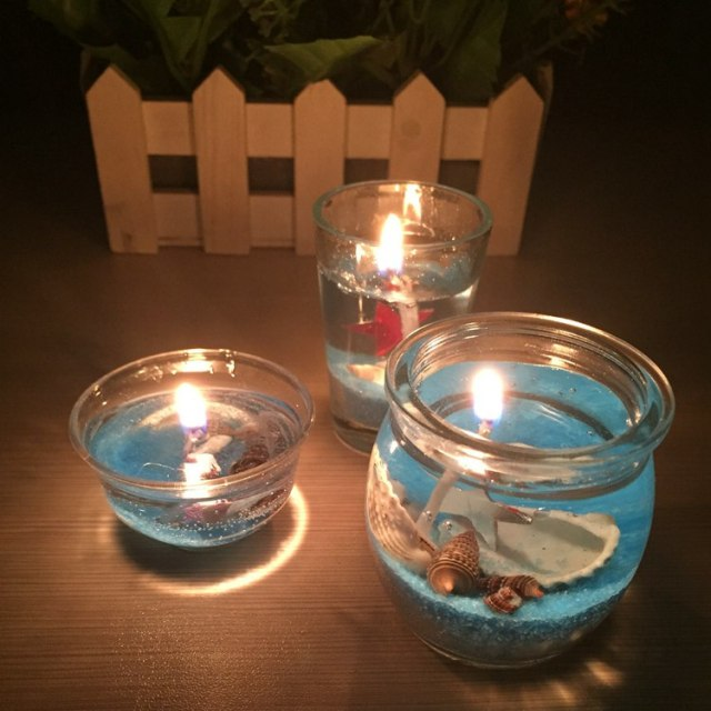Crystal Light Scented Gel Candle Smokeless Jelly Wax environment friendly  Non toxic and harmless Romantic Candles|scented gel candles|romantic  candlegel candle - AliExpress