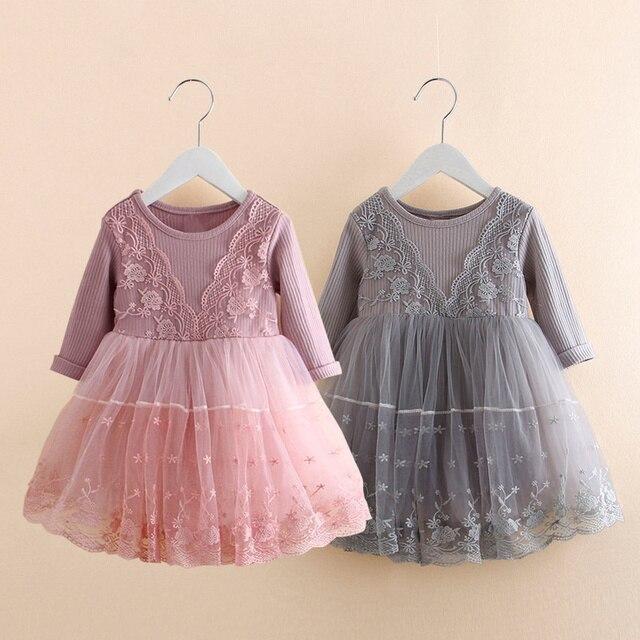 Толстые теплые Платье для маленьких девочек Новогоднее праздничное платье на свадьбу вязаная зимняя детская одежда для девочек Одежда для маленьких девочек праздничное платье