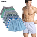 BXMAN Men Large  M-XXXXL Boxers Shorts Men's Brand Underpants Cotton Panties 2016 Cuecas Boxer Men Comfortable Soft Underwear