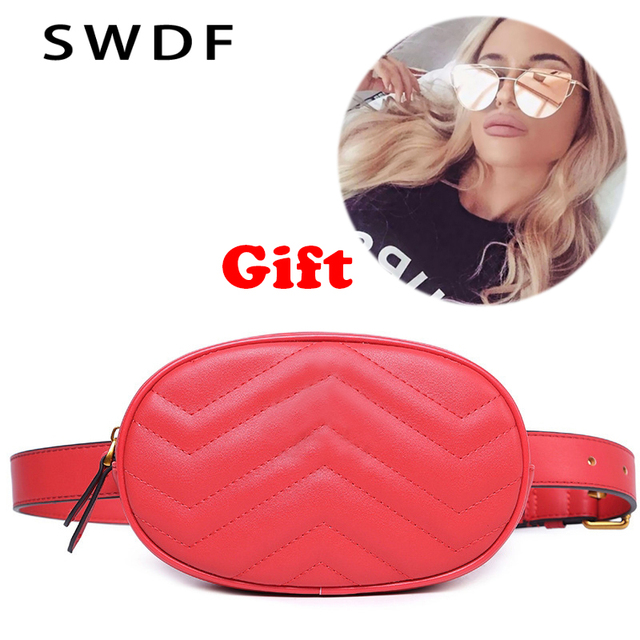 Fashion Trend fanny pack for women 2018 leather waist bags belt bum leg belly hip purse mini small phone money bag