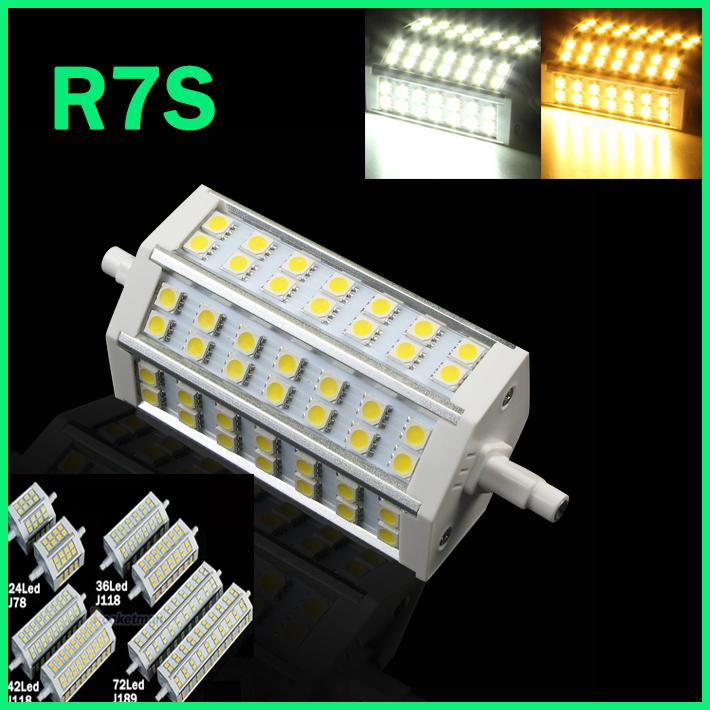 R7S LED 12W 15W 20W 25W 78mm 118mm 189mm J78 J118 J189 LED R7S Dimmable 5050 corn bulb Halogen Floodlight 1pcs/lot Free Shipping omto r7s led corn 20w light 2835 smd 189mm 144leds ac85 265v