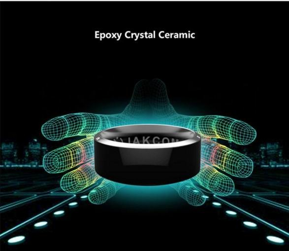 Wear Jakcom R3 smart ring stylish minimalist smooth titanium steel ring ladies finger accessories for womens friends holiday