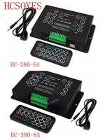 BC BC 380 6A/BC 380 8A 3CH / 8A*3CH DC12V 24V with IR Wireless remote 3CH CV DIY Led RGB strip Controller wash wall light strip