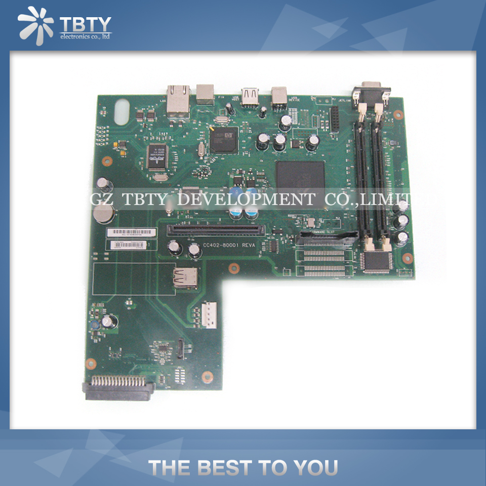 все цены на 100% Guarantee Test Main Formatter Board For HP M9040 M9050 M 9040 9050 CC402-60001 Mainboard On Sale онлайн
