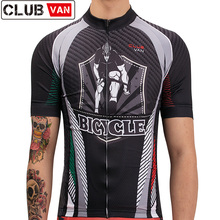 Summer cycling jersey 2019 Mens short sleeve retro bike clothing maillot mtbPro bicycle shirt Outdoor sport clothes male top