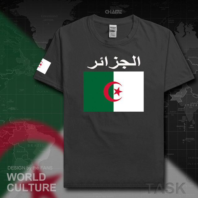 Republic of Algeria Algerian Islam DZA mens t shirt jerseys nation team tshirt cotton t-shirt sporting clothing tees Dzayer
