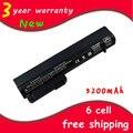 Nueva batería del ordenador portátil 411127-001 hstnn-db22 rw556aa para hp/compaq elitebook 2530 p 2540 p 2400 2510 p nc2400