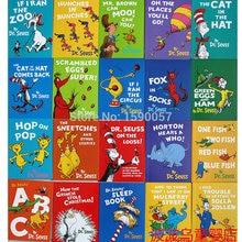 10 шт./партия, оригинальные детские наклейки для книг на английском языке большого формата
