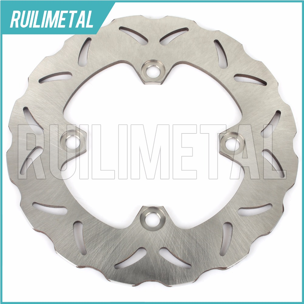 Rear Brake Disc Rotor for KAWASAKI ER6 F 2006 2007 2008 2009 2010 2011 2012 06 07 08 09 10 11 12 KLE 650 ABS N R Ninja Versys 1x rear brake rotor disc braking disk for suzuki gsr400 2006 2010 gsx1250fa 2010 2011 gsx650f 2008 2011 gsf650 bandit abs 2011