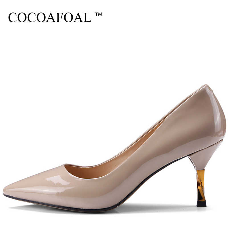 f6886f7e67 Detail Feedback Questions about COCOAFOAL Woman Genuine Leather ...