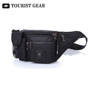 Image 5 - Bolsa de cintura suíça para homens e mulheres, pochete com cinto de quadril, mochila de viagem, montanhismo, para celular pacotes